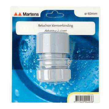 Aérateur Martens raccord à visser 40 mm gris