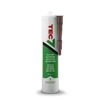 Mastic d'étanchéité Tec7 brun 310 ml