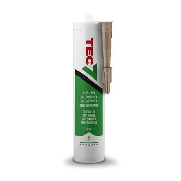 Tec7 montage- en afdichtingskit eik 310 ml