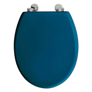 allibert bolivia wc bril blauw mdf toiletzittingen. Black Bedroom Furniture Sets. Home Design Ideas