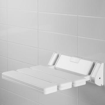 Siège de douche Usis Allibert blanc