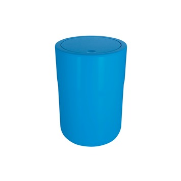 Poubelle Cocco Spirella 5 L bleu