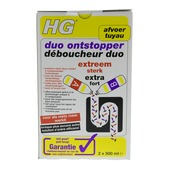 HG Déboucheur duo extra fort 2x500 ml