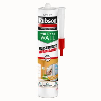 Mastic acrylique murs et fenêtres Rubson blanc 280 ml