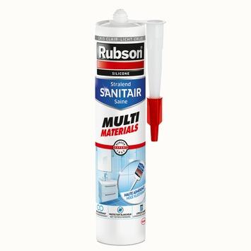 Rubson sanitairkit multi materialen licht grijs 280 ml