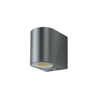 GAMMA wandlamp Liverpool met LEDlamp GU10 7W 560 lumen grijs