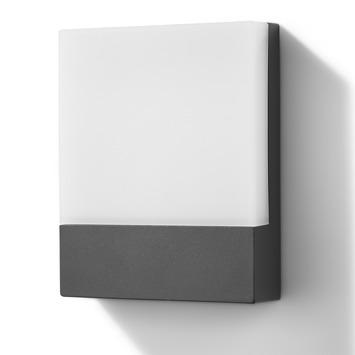 Applique extérieure Cardiff GAMMA LED intégrée 6W 524 lumens gris