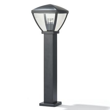 GAMMA sokkel Nashville geïntegreerde LED 12W 810 lumen zwart