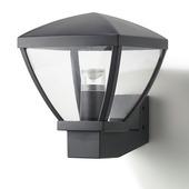 Applique extérieure Nashville GAMMA LED intégrée 12W 810 lumens noir