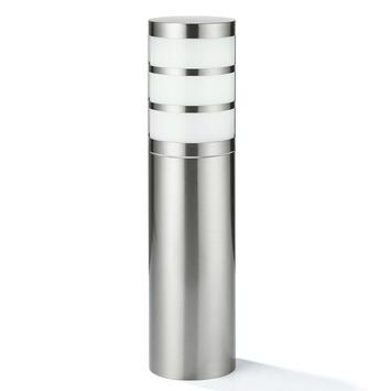 Éclairage sur socle Leeds GAMMA 40 cm E27 15W inox ampoule non fournie