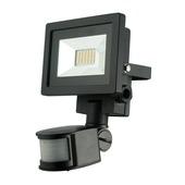 Projecteur avec détecteur de mouvement GAMMA LED intégrée 20W 1300 lumens noir