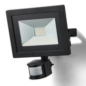 GAMMA straler met bewegingsmelder met geïntegreerde LED 30W 1800 lumen zwart