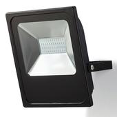 Projecteur GAMMA LED intégrée 50W 3000 lumens noir