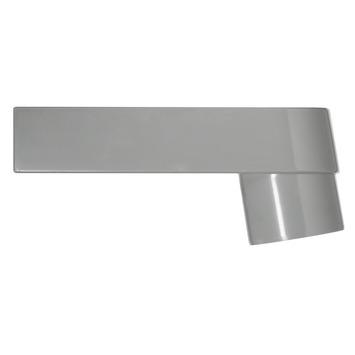 Évacuation eau pluviale Martens synthétique 70x80 mm gris