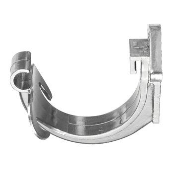 Support gouttière G16 Martens gris clair