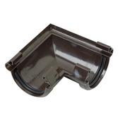 Martens hoekstuk universeel rubber G16 bruin