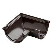 Martens buitenhoek regenwaterafvoer bruin 125 mm