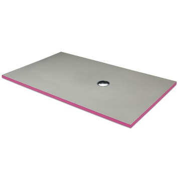 Receveur de douche Qboard liquid 40 mm 180x90 cm décentré 65x45 cm