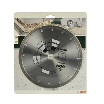 Meule diamantée Bosch 230 mm béton