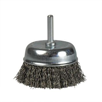 Brosse conique en métal ondulé Bosch 70x0,3 mm