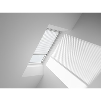 Store vénitien manuel Velux  blanc PAL C04 7001S