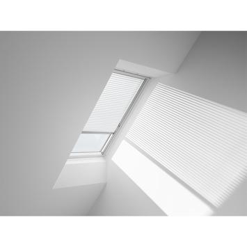Store vénitien manuel Velux  blanc PAL MK06 7001S