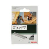 Bosch nietjes type 53 - 8 mm 1000 stuks