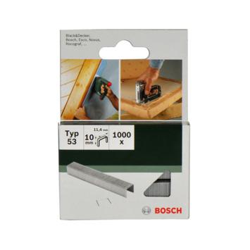 Bosch nietjes type 53 - 10 mm 1000 stuks