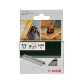 Agrafes type 53 Bosch 10 mm 1000 pièces