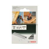 Bosch nietjes type 53 - 12 mm 1000 stuks