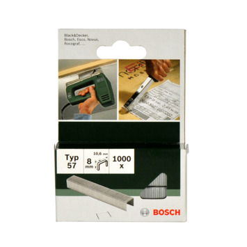 Agrafes type 57 Bosch 8 mm 1000 pièces