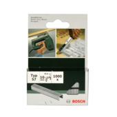 Bosch nietjes type 57 - 10 mm 1000 stuks