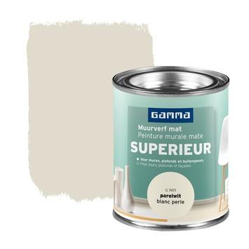 GAMMA Superieur muurverf extra mat parelwit 100 ml