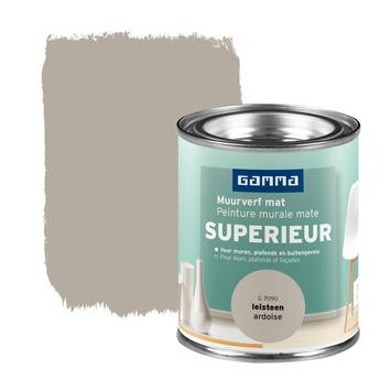 GAMMA Superieur muurverf extra mat leisteen 100 ml