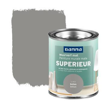 GAMMA Superieur muurverf extra mat beton 100 ml