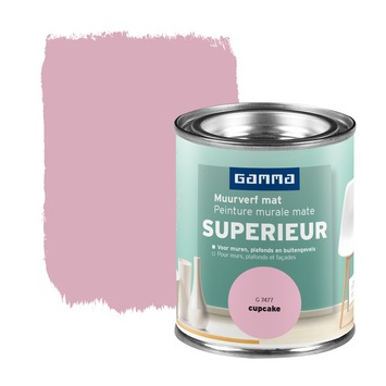 GAMMA Superieur muurverf mat cupcake 100 ml