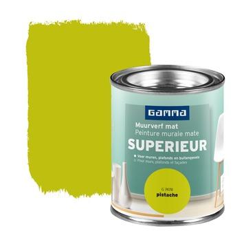 GAMMA Superieur muurverf extra mat pistache 100 ml