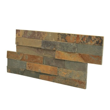 Briques de parement Canyon rusty 0,52 m²