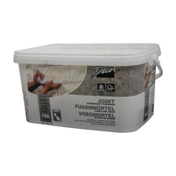Mortier de jointoyage pour briques de parement 7 kg blanc