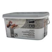 Voegmortel steenstrip grijs 7 kg