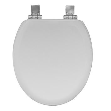 Bemis Chicago STA-TITE® wc bril afneembaar met softclose wit gevormd hout
