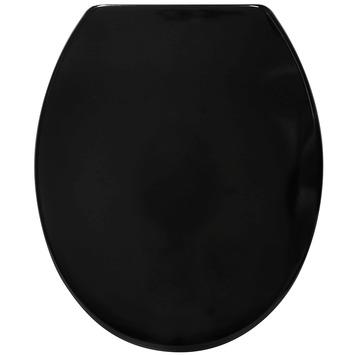 Handson Fynn wc bril zwart kunststof