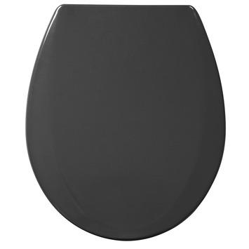 Siège WC Otso Handson soft-close synthétique gris foncé