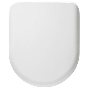 Siège WC Simo Handson modèle en D soft-close synthétique blanc