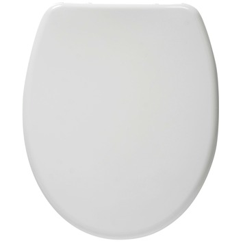 Siège WC Ukso Handson soft-close détachable synthétique blanc