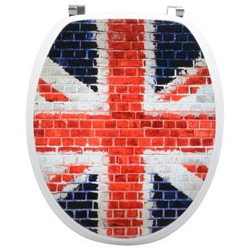 Handson Matias wc bril Engelse vlag MDF