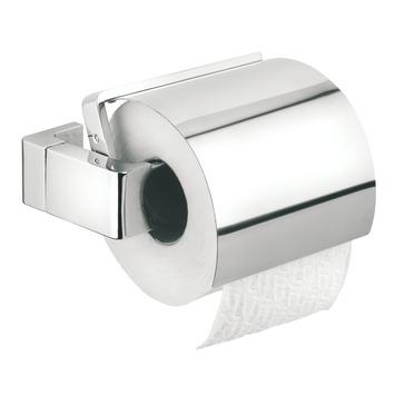 Tiger Ontario wc rolhouder met klep chroom