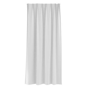 Rideau ruban fronceur GAMMA translucide 1164 blanc 140x180 cm