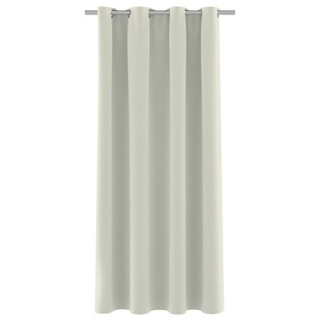 Rideau ruban fronceur GAMMA translucide 1165 taupe 140x180 cm