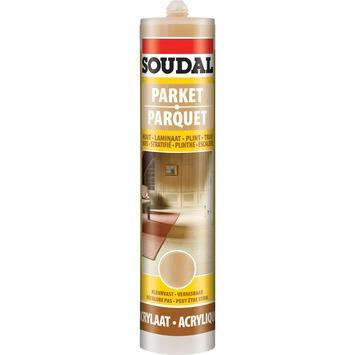 Mastic acrylique parquets Soudal chêne moyen 300 ml